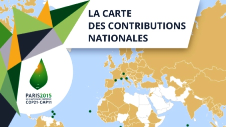La cop21 carte des contributions nationales la france for Centre francais du commerce exterieur